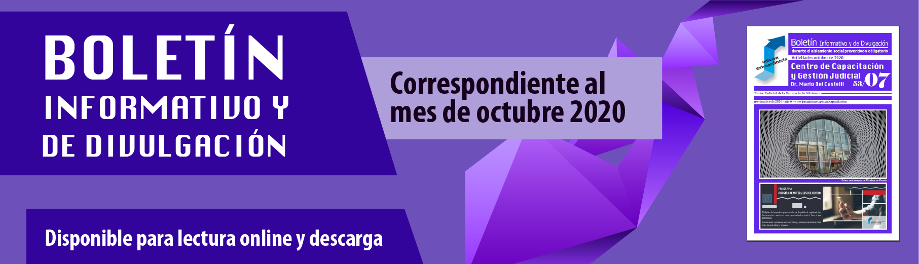 Boletín informativo Octubre