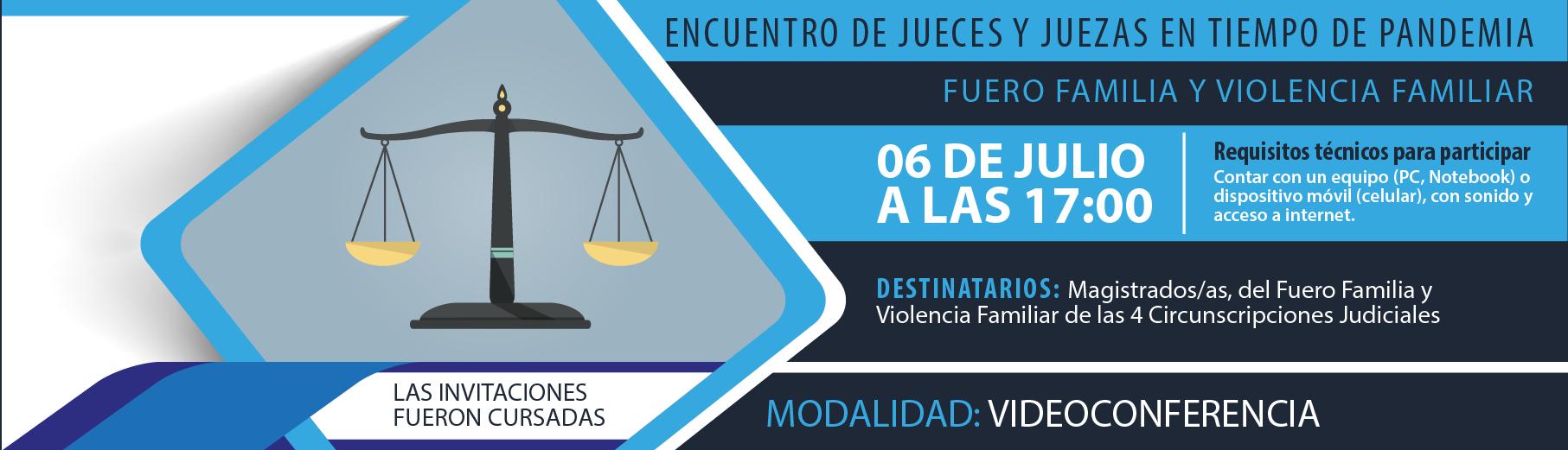 Encuentro de Jueces y Juezas en Tiempo de Pandemia - Fuero Civil y Comercial