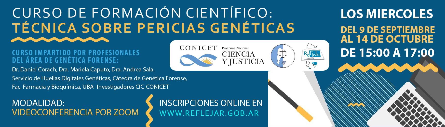 Curso de Formación Científico-Técnica sobre Pericias Genéticas