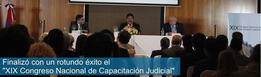 Congreso Nacional de Capacitación Judicial